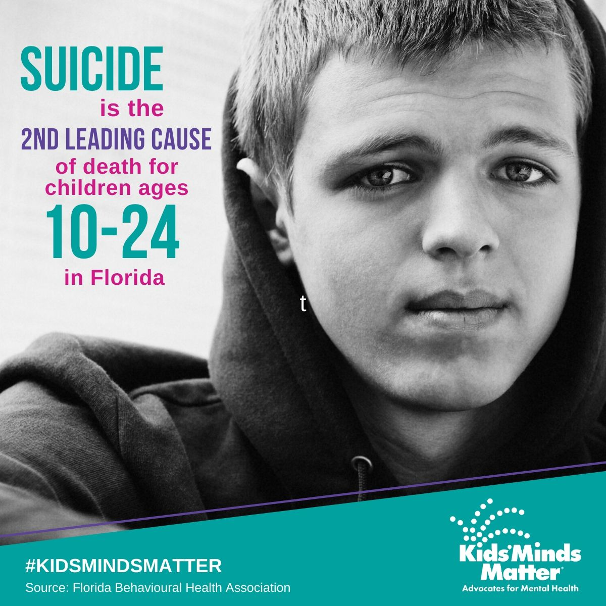 Social Graphics - Share these images and use hashtag #KidsMindsMatter to help further our mission
